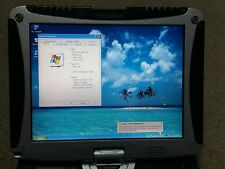 PANASONIC CF-19 TOUGHBOOK RUGGED LAPTOP 2GB 250GB CF-19CHGAXBM WIN XP NON TOUCH