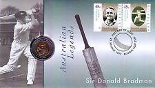 *1997 Australian Don Bradman $5 coin Pnc *