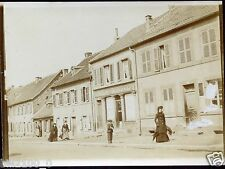 Forbach. Hombourg.  Moselle. magasin.boutique . photo ancienne . 1904