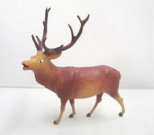 Figurine ancienne starlux série zoo animaux sauvages : Cerf réf FS25059