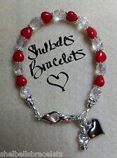 Medical Replacement Bracelet/Medical Alert ID Bracelet/Heart