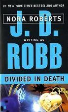 Divided in Death, J.D. Robb, Good Condition, Book
