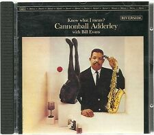 Adderley, Cannonball With Bill Evans  Know what I mean ? DCC GOLD CD GZS-1090