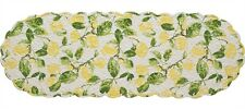 "Lemons Quilted Table Runner ~ 13"" x 54"""