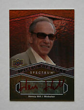 2009 SPECTRUM HENRY HILL RED INK AUTO RIP GOODFELLAS MAFIA GANGSTER WISEGUY