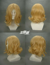 APH Hetalia Axis powers France Anime Cosplay Costume Wig +Free CAP +Track number