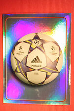 PANINI CHAMPIONS LEAGUE 2011/12 N. 3 THE BALL WITH BACK BACK MINT!!