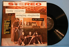 BUDDY COLLETTE & HIS SWINGING SHEPHERDS AT THE CINEMA VINYL LP '59 ORIG VG/VG+!!