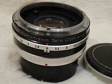 Vivitar Automatic MC Tele Converter Canon FD / FL Mount 2x-4 Lens Made in Japan