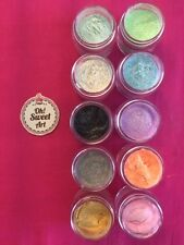 Sparkle dust SET 10 colors , Fondant icing coloring luster  Decorating 4g each