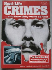 Real Crimes Issue 26 - The Barn Murder, Vampire of Dusseldorf