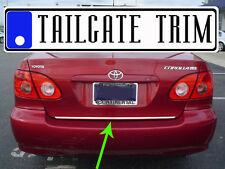 Chrome Tailgate Trunk Molding Trim - Toyota