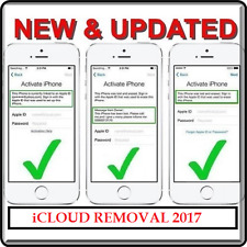 HOT 100% iCloud Removal Unlock Fast 8 Websites for iphone/ipad/ipod All Models
