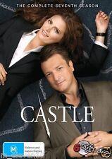 CASTLE Seasons 1 - 7 : NEW DVD