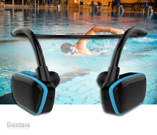 Wasserfest Schwimm MP3 wasserdichter kabelloser Kopfhörer Watersports Laufen NEU