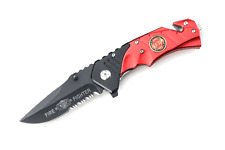 """Snake Eye Tactical Rescue Style Action Assist Folding Knife 4.5"""""""
