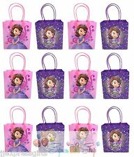 12x Disney Sofia the First  Birthday Party Favor Goody Gift Candy Loot Bags