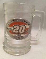 NASCAR Tony Stewart #20 Home Depot Collectors Glass Beer Mug Stein