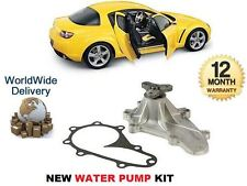 FOR MAZDA RX8 1.3i 2.6 ROTARY 2003-2008 NEW WATER PUMP + GASKET SET