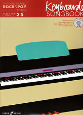 THE FABER ROCK & POP SERIES KEYBOARDS GRADE 2-3 SONGBOOK WITH CD