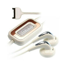 Kit Piéton Mains libres Nokia HS-31 Blanc Nylon Headphone Handsfree