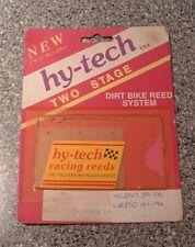 HY TECH HYTECH MOTOCROSS EVO POWER REEDS FÜR YAMAHA YZ250 WR250 89-96 HT04 D