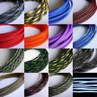 6mm TIGHT Braided PET Expandable Sleeving DIY (25)Colors Selectable 5M