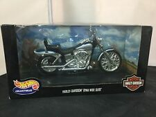 HARLEY DAVIDSON HOT WHEELS - DYNA WIDE GLIDE MOTORCYCLE 1:10-SCALE NEW RARE