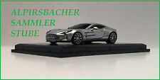 A.S.S NEU FRONTI-ART AVANSTYLE 1/87 ASTON MARTIN ONE 77 SILVER SILBER OVP