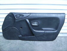 Mazda MX-5 Miata Right Passenger Side Interior Door Panel Card Black 1999-2000