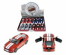 KINSMART 1:38 DISPLAY 2015 FORD MUSTANG GT WITH STRIPES Diecast Car Copper Color