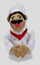 "15"" CHEF PUPPET  Free Shipping in/USA~ Very Detailed ~ Melissa & and Doug  #2553"