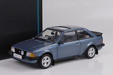 1983 Ford Escort XR3i MKIII caspian blue blau metallic 1:18 SunStar