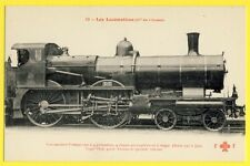 cpa France SUPERBE TRAIN Grande Vitesse LOCOMOTIVE Ouest Type 1898 CHEMIN de FER