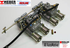 Volvo B18 B20 Hi-performance DCOE Weber kit w/manifold+linkage - Genuine 45DCOE