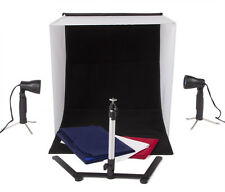 """24"""" Table Top Tent Box Backdrop With Camera Stand Product Photography Kit"""