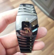 NWOT Rado Sintra Jubile XL mens ceramic watch with diamonds R13724712