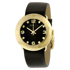 Marc by Marc Jacobs Amy Gold Ion-plated Bezel Ladies Watch MBM1154