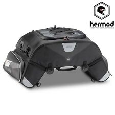 Givi XS305 Motorcycle Tail Rear Waterproof Bike Bag Pack 60 Litre - Black