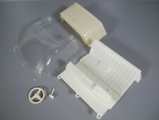 Windshield Seat St Wheel Dashboard Bed Topper Combo Tamiya RC 1/10 Toyota Hilux