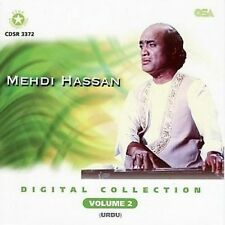 DIGITAL COLLECTION  MEHDI HASSAN - NEW SOUNDTRACK CD VOL 2 - FREE UK POST