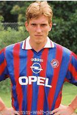 Andreas Herzog Bayern München 1995-96 seltenes Foto+4