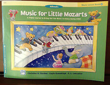 Alfred's Music For Little Mozarts   Lesson  2  Barden, Kowalchyk, & Lancaster