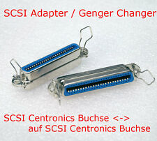 SCSI Gender Changer Adattatore Centronics Presa Female & GT SCSI 50-pol presa 50-pin
