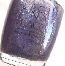 OPI Midnight Blue Glitter Tuxedo Collection 2004 Nail Polish NL T01 Black Label