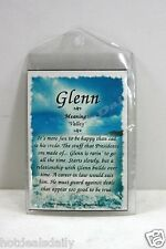 GLENN WHAT'S IN A NAME MAGNETS MEANING OF NAME HISTORY OF NAME AND ATTRIBUTES