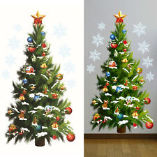 Removable Christmas Tree Stickers Art Decals Mural DIY Wallpaper Home Wall Decor