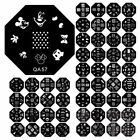 60 Designs DIY Nail Art Image Stamp Stamping Plates Manicure Template New