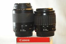 Canon EF 35-80mm 80-200mm 2 lens SET for EOS Rebel T5 T6 40D 50D 5D 7D 60D 70D