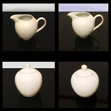 Milk and Sugar Set Cream Jug And Sugar Bowl Set Porcelain Ceramic Kitchen Set